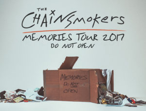 K3 voices The Chainsmokers Tour